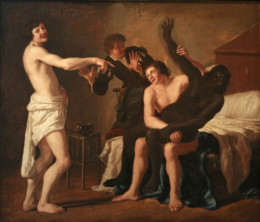 Rape of the Black Girl | Christiaen van Couwenbergh | Oil Painting