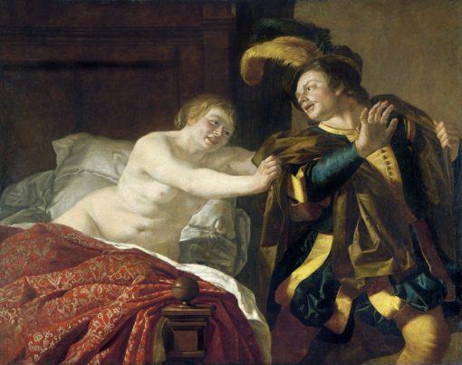 Joseph und Potiphars Wife | Christiaen van Couwenbergh | Oil Painting