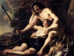 Venus and Adonis | Christiaen van Couwenbergh | Oil Painting