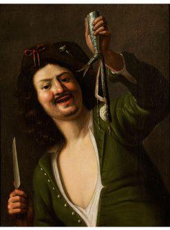 Der Matjesesser | Christiaen van Couwenbergh | Oil Painting