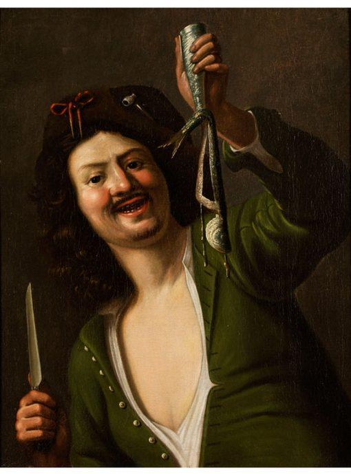 Der Matjesesser   Christiaen van Couwenbergh   Oil Painting