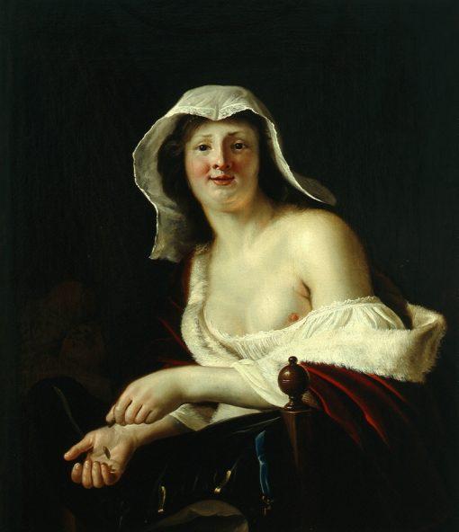 Brothel Scene   Christiaen van Couwenbergh   Oil Painting