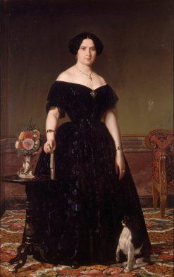 Portrait of Antonia Roca y Mestre | Angel María Cortellini Hernández | Oil Painting