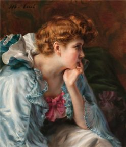 Portrait of a Lady | Manuel Cusi y Ferret | Oil Painting