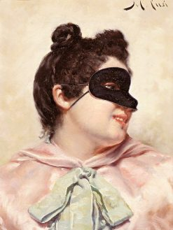 At the Masked Ball | Manuel Cusi y Ferret | Oil Painting