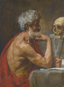 The Penitent Saint Jerome | Simone Cantarini | Oil Painting