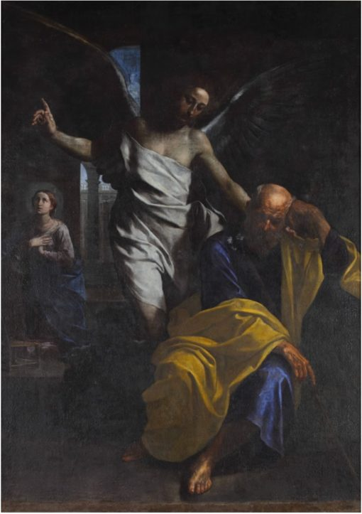 The Dream of St Joseph | Simone Cantarini | Oil Painting