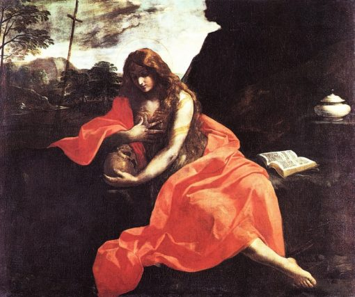 Penitent Mary Magdalen | Simone Cantarini | Oil Painting