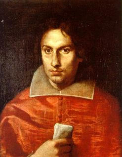 Portrait of Cardinal Antonio Barberini | Simone Cantarini | Oil Painting