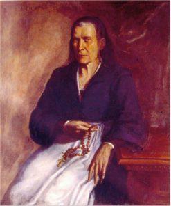 Portrait of Eleonora Albani Tomasi | Simone Cantarini | Oil Painting