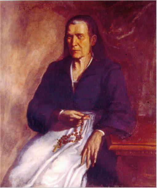 Portrait of Eleonora Albani Tomasi   Simone Cantarini   Oil Painting