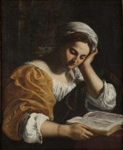Reading Sibyl | Simone Cantarini | Oil Painting
