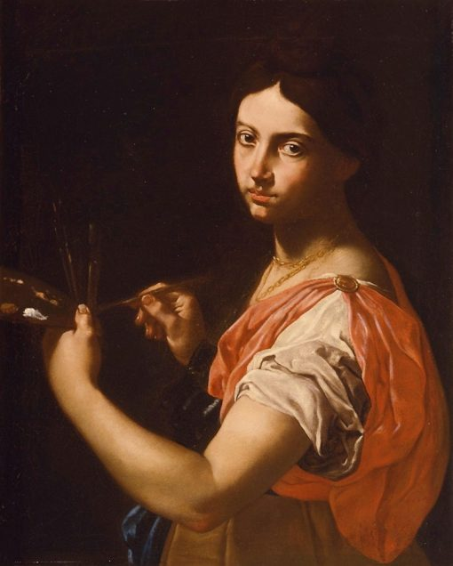 Allegory of Painting | Simone Cantarini | Oil Painting