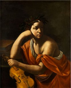 Allegory of Music | Simone Cantarini | Oil Painting