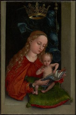 Madonna and Child in a Window | Martin Schongauer | Oil Painting