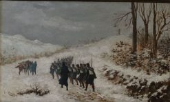 The March | Josep Cusachs | Oil Painting
