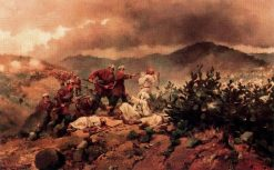 Scene of the African War | Josep Cusachs | Oil Painting