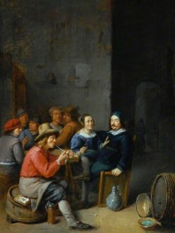 Interior of a Tavern | Joos van Craesbeeck | Oil Painting