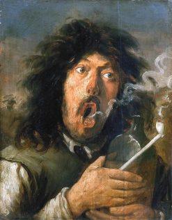 The Smoker | Joos van Craesbeeck | Oil Painting