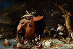 The Temptation of St Anthony | Joos van Craesbeeck | Oil Painting