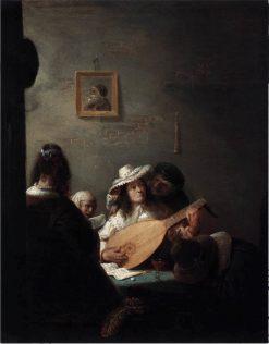 The Lute Player | Joos van Craesbeeck | Oil Painting