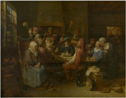 Flemish Tavern | Joos van Craesbeeck | Oil Painting