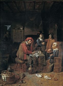 The Marriage Contract | Joos van Craesbeeck | Oil Painting