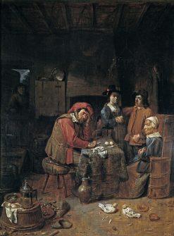 The Marriage Contract | Joos van Craesbeeck | Oil Painting