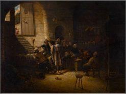 Tavern Scene | Joos van Craesbeeck | Oil Painting