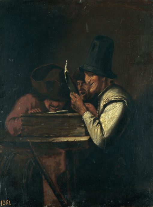 Burlesque Trio | Joos van Craesbeeck | Oil Painting