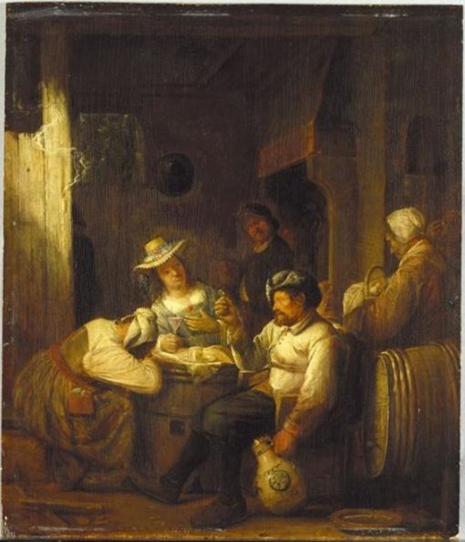 Country Tavern | Joos van Craesbeeck | Oil Painting