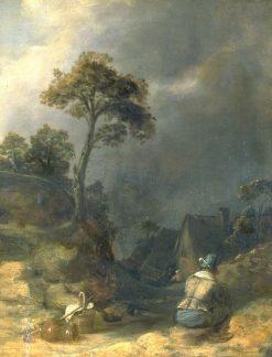 Traveller Resting | Joos van Craesbeeck | Oil Painting