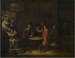The five senses | Joos van Craesbeeck | Oil Painting