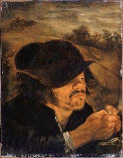 The lice crusher | Joos van Craesbeeck | Oil Painting