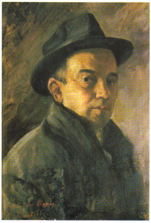 Self Portrait | Vicente Castell y Domenech | Oil Painting