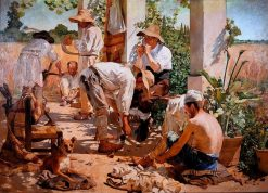 Castellon Reapers | Vicente Castell y Domenech | Oil Painting