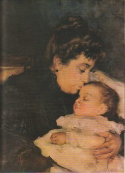Mother and Child | Vicente Castell y Domenech | Oil Painting