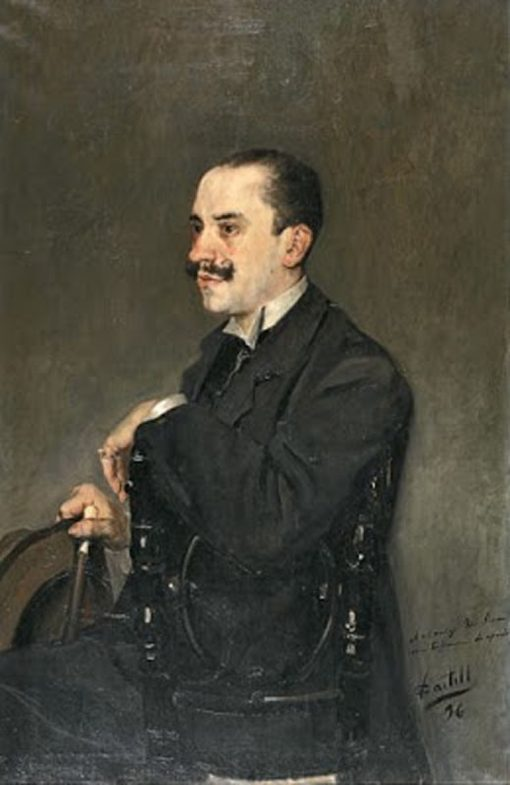 Portrait of a Gentleman | Vicente Castell y Domenech | Oil Painting