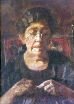 Portrait of Dolores Soliva | Vicente Castell y Domenech | Oil Painting