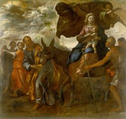 Flight into Egypt | Simone Cantarini | Oil Painting