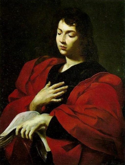 Saint John the Evangelist | Simone Cantarini | Oil Painting