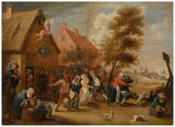 Rural Feast | Abraham Teniers | Oil Painting