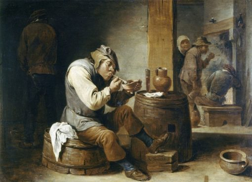 Smokers and Drinkers | Abraham Teniers | Oil Painting