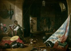 A Guardroom | Abraham Teniers | Oil Painting