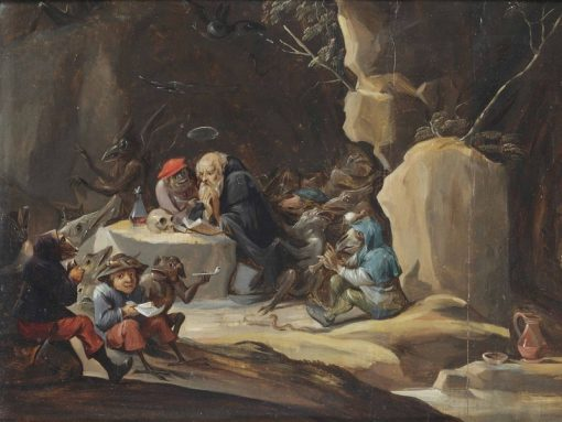 The Temptation of Saint Anthony | Abraham Teniers | Oil Painting