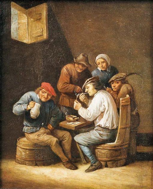 Tavern Scene | Abraham Teniers | Oil Painting