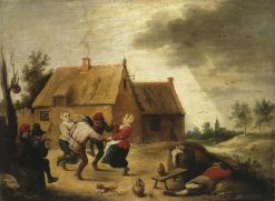 Dancing Peasants | Abraham Teniers | Oil Painting
