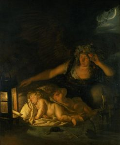 Allegory of Night | Joachim von Sandrart | Oil Painting