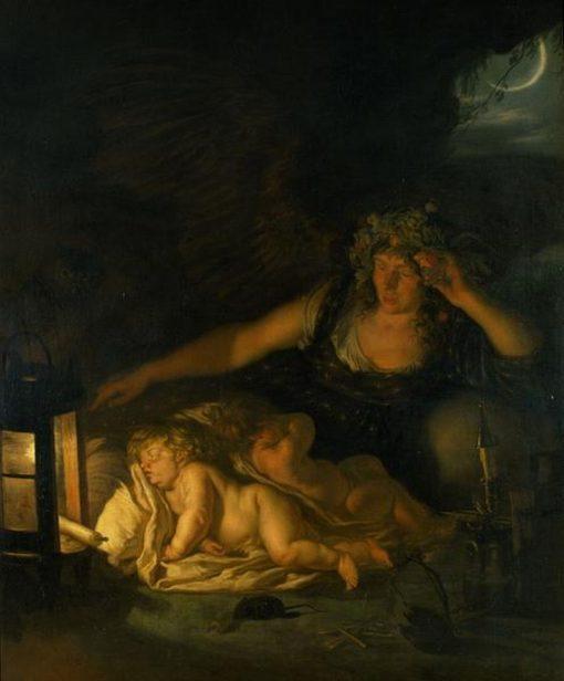Allegory of Night | Joachim von Sandrart | Oil Painting