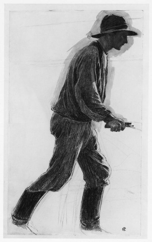 A Workman | Carl Wilhelm Wilhelmson | Oil Painting